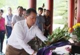 Báo Pháp luật Việt Nam dâng hương dâng hoa, báo công tại 'tọa độ lửa'
