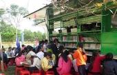 Chuyến xe thư viện lưu động và đọc sách thời @