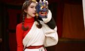 Hoa hậu Huỳnh Vy hóa thân thành thiếu nữ Tây Tạng xinh đẹp