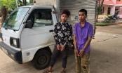 Bắt 2 thanh niên trộm xe ô tô sau khi nhậu về