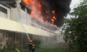 Bình Dương: Cháy lớn tại Khu công nghiệp Việt Hương