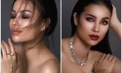 Hoa hậu Phạm Hương bán nude gợi cảm trong bộ ảnh mới