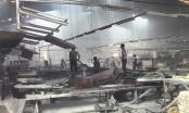 Bình Dương: Hỏa hoạn tại Công ty TNHH Gỗ Tân Vĩnh Nghĩa