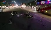 Bình Dương: Hai xe máy chạm, 2 người trọng thương