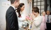 Mẹ ruột và mẹ chồng Phương Mai xúc động khi nhìn hai con hạnh phúc