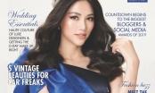 Hoa hậu Phương Khánh đẹp mê hồn khi lên bìa tạp chí danh tiếng