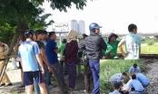 Hà Nội: Thiếu quan sát khi băng qua đường sắt, người đàn ông bị tàu hỏa đâm tử vong