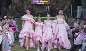 Thanh Hằng, H'Hen Niê, Lệ Hằng diễn vedette tại Pink Summer Fashion Kids