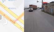 Clip - Khiếp sợ cụ ông tay lái lụa tạt ngang đầu xe container