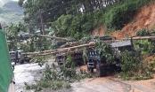 Hà Giang: Mưa lớn gây thiệt hại nặng, nhiều tuyến đường bị ách tắc