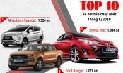 Top 10 xe bán chạy nhất tháng 8/2019: Toyota Vios lao dốc, Mitsubishi Xpander bùng nổ
