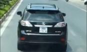 Truy tìm tài xế xe Lexus ngang ngược không nhường đường cho xe cứu hỏa
