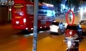 Cố tình vượt xe con, xe khách lấn làn gây tai nạn nghiêm trọng