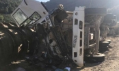 Kon Tum: Lật xe tải chở đá, 2 người thiệt mạng