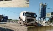 Gia Lâm (Hà Nội): Trạm trộn bê tông ngày đêm hoạt động trái phép, người dân sống chung với ô nhiễm