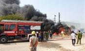 Bà hỏa thiêu rụi xưởng phế liệu tại Bắc Ninh