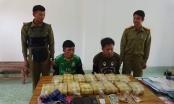 Bắt giữ 2 đối tượng đang vận chuyển ma túy từ Lào về Việt Nam với số lượng lớn