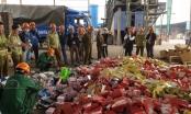 Hà Nội: Tiêu huỷ 63 tấn hàng hoá vi phạm trị giá gần 6 tỷ đồng