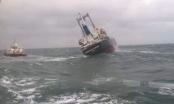 Kịp thời cứu 18 thuyền viên trên tàu hàng trọng tải gần 9.000 tấn gặp nạn trên biển
