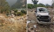 Lại động đất tại Cao Bằng, bồn nước Bệnh viện Trùng Khánh bị rơi vỡ