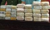 Hai đối tượng bị vây bắt cùng 18kg ma túy đá và 30 bánh Heroin