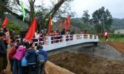 Hà Giang: Khánh thành cây cầu từ thiện trị giá gần tỷ đồng