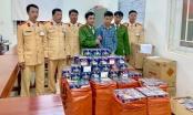 Bắt xe khách biển Lào vận chuyển gần 1 tấn pháo nổ