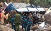 Lai Châu: Xe tải mất lái lao xuống vực khiến ba người thiệt mạng