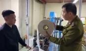 Clip bắt quả tang cơ sở dùng giấy vệ sinh sản xuất khẩu trang kháng khuẩn