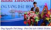 Cây xăng Hoàng Sơn hoạt động không phép, lãnh đạo TP Hoà Bình vẫn tham dự buổi lễ khai trương!?
