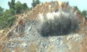 Sử dụng vật liệu nổ ngoài phạm vi giấy phép, một công ty bị phạt 180 triệu đồng