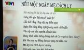 Bài thơ Nếu ngày mai mẹ phải bị cách ly gây sốt cộng đồng mạng của một nữ điều dưỡng
