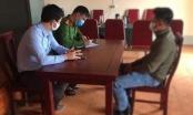 Nghệ An: Xử phạt nam thanh niên vi phạm giao thông, không đeo khẩu trang nơi công cộng