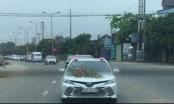 Hà Tĩnh: Giữa đại dich Covid-19 đoàn xe rước dâu của con PGĐ Bệnh viện vẫn hiên ngang lăn bánh