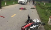 Ô tô và xe máy đối đầu trên quốc lộ, 2 người thương vong