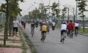 Nghỉ dịch Covid-19, người dân TP Vinh đua nhau đi tập thể dục