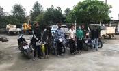 Nghệ An: Nhóm nam nữ ngông nghênh đi xe máy không đội mũ bảo hiểm, đánh võng giữa đại dịch
