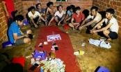 Gia Lai: Liên tiếp bắt quả tang các nhóm đối tượng đánh bạc trong thời gian cách ly toàn xã hội