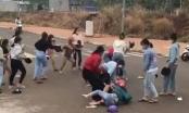 Công an vào cuộc xác minh vụ hỗn chiến giữa 2 nhóm thiếu nữ giữa đường phố