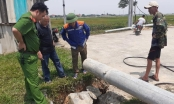 Hà Tĩnh: Cột điện đổ sập khi đang thi công, 1 người tử vong