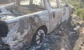 Vụ chiếc xe bán tải của Bí thư xã cháy rụi : Nạn nhân là cháu Bí thư xã