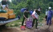 Lào Cai: Tiêu hủy 2 lô hàng không rõ nguồn gốc