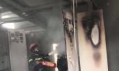 Kịp thời khống chế đám cháy tại nhà máy may ở Nghệ An