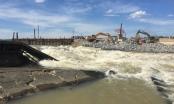 """Đập Bara Đô Lương bị vỡ, hàng ngàn hộ dân mất nước, lúa hè thu lo """"chết khát"""""""