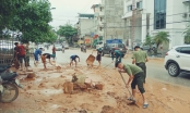 Hà Giang: Mưa lớn gây thiệt hại hàng tỷ đồng, dự án khu đô thị mới Hà Sơn lại vỡ đập giữ nước