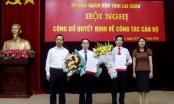 Chủ tịch tỉnh Lai Châu trao quyết định bổ nhiệm 2 tân giám đốc sở
