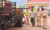 Đắk Lắk: Bắt giữ xe máy cày chở gỗ lậu
