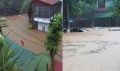 Mưa lũ khiến 3 người thương vong, thành phố Hà Giang ngập trong nước