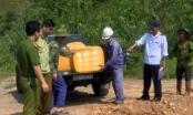 Lào Cai: Tiêu hủy số lượng lớn hàng đông lạnh không rõ nguồn gốc