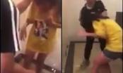 Clip ghi lại cảnh nữ sinh bị đánh tới tấp vào mặt khiến nhiều người phẫn nộ